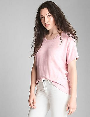 GAP Softspun Short Sleeve Panel T-Shirt