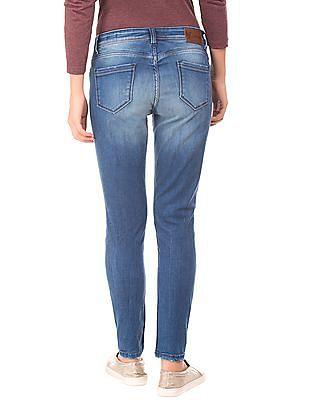 EdHardy Women Distressed Skinny Fit Jeans
