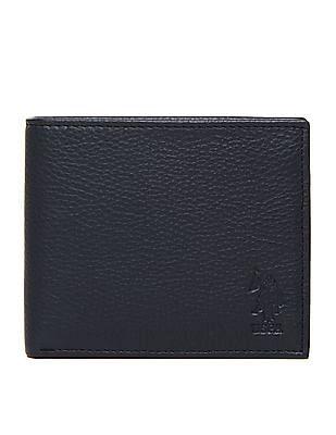 U.S. Polo Assn. Grained Leather Bi-Fold Wallet