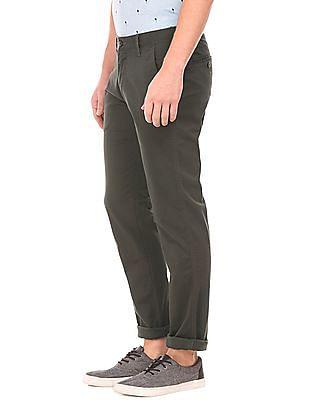 Izod Slim Fit Cotton Lycra Trousers