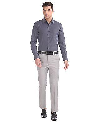 Arrow Slim Fit Textured Shirt