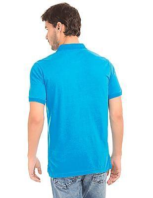 Aeropostale Appliqued Front Polo Shirt