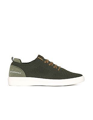 Aeropostale Perforated Knit Low Top Sneakers
