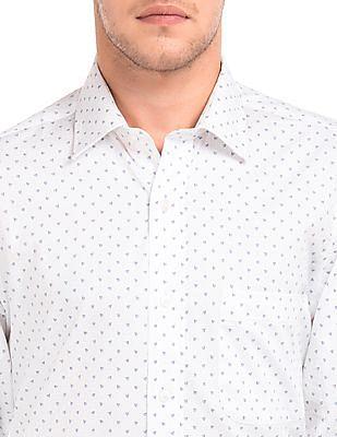 Arrow Regular Fit Printed Shirt