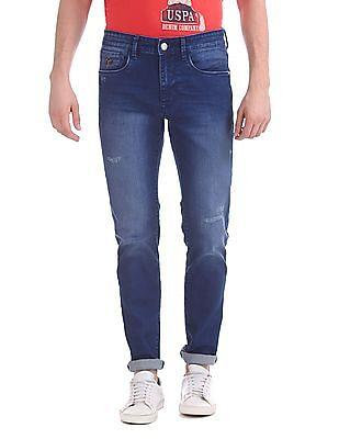 U.S. Polo Assn. Denim Co. Regallo Skinny Fit Stone Wash Jeans