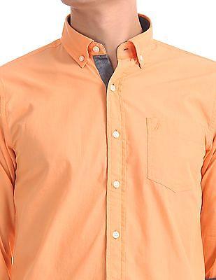 Nautica Slim Fit Button Down Shirt