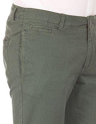 Cherokee Printed Slim Trousers