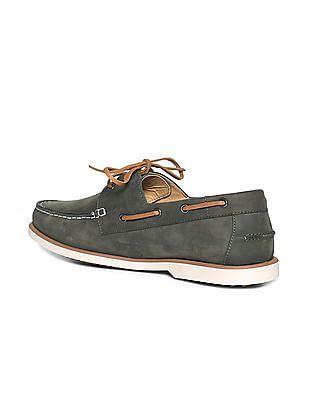 U.S. Polo Assn. Suede Leather Boat Shoes
