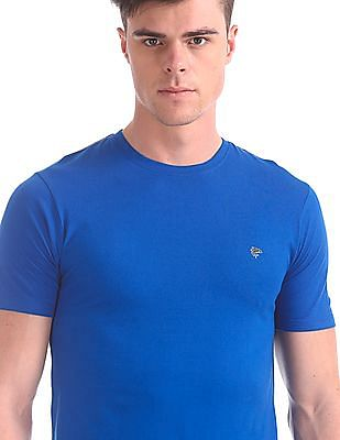 Ruggers Crew Neck Solid T-Shirt - Pack Of 3