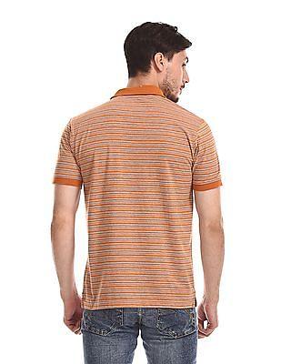 Ruggers Contrast Stripe Short Sleeve Polo Shirt