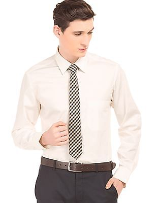 Arrow Solid Cotton Shirt