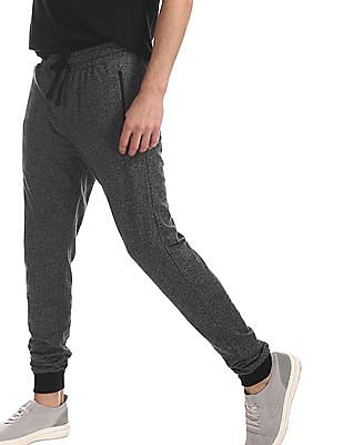 Colt Grey Heathered Mid Rise Joggers