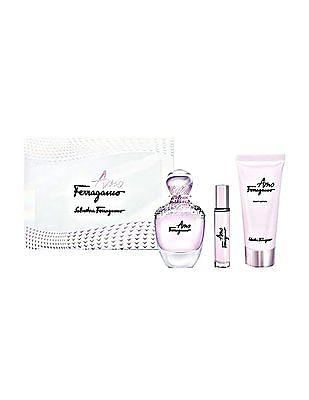 Salvatore Ferragamo Amo Eau De Parfum Gift Set