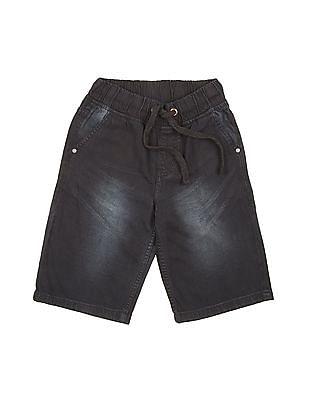 Cherokee Boys 3/4Th Denim Shorts