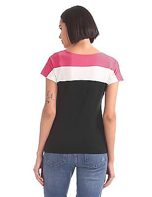 SUGR Colour Blocked Boxy Top