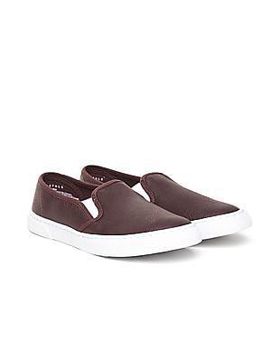 Aeropostale Grained Slip On Shoes