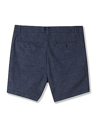 Nautica Cotton Printed Chino Shorts