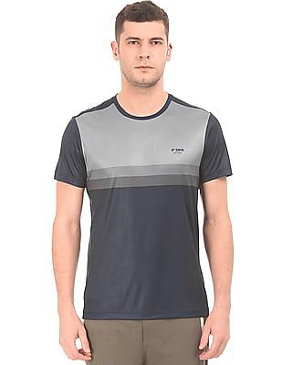 USPA Active Gradient Stripe Equi-Dry Active T-Shirt