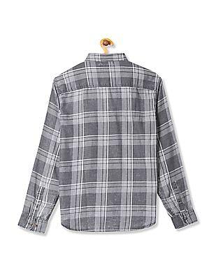 Aeropostale Long Sleeve Plaid Shirt