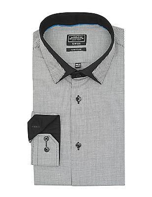 Arrow Newyork Monochrome Slim Fit Shirt