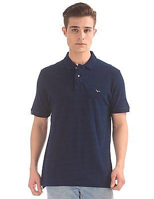 Flying Machine Solid Slim Fit Polo Shirt