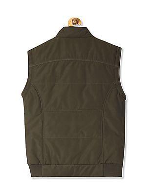 Arrow Sports Sleeveless Zip Up Jacket