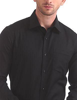 Arrow Slim Fit French Placket Shirt