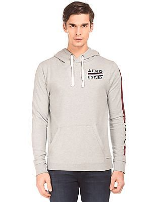 Aeropostale Long Sleeve Hooded Sweatshirt