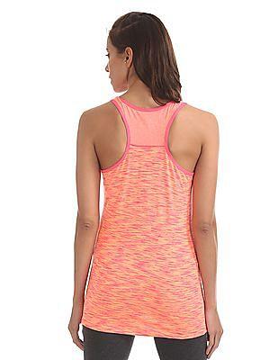 U.S. Polo Assn. Women Printed Sleeveless Racerback Top