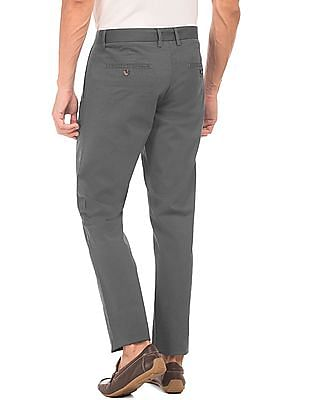 U.S. Polo Assn. Slim Tapered Fit Flat Front Chinos