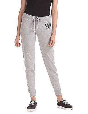 Aeropostale Regular Fit Drawstring Waist Joggers