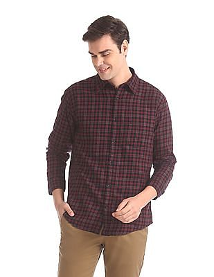 Roots by Ruggers Slim Fit Check Shirt