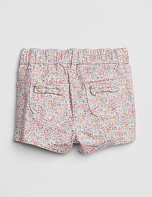 GAP Toddler Girl Floral Shortie Shorts