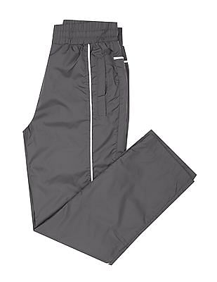 U.S. Polo Assn. Kids Boys Contrast Piping Track Pants