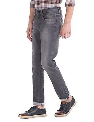U.S. Polo Assn. Denim Co. Delta Slim Fit Stone Wash Jeans