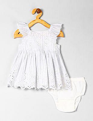 GAP Baby Girl Eyelet Dress