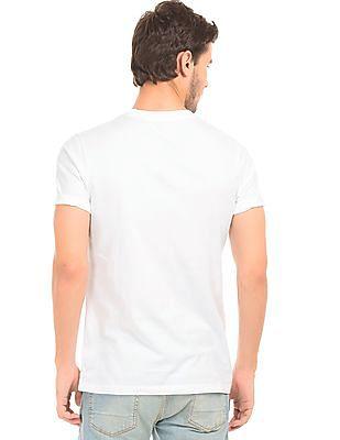 Aeropostale Appliqued Regular Fit T-Shirt