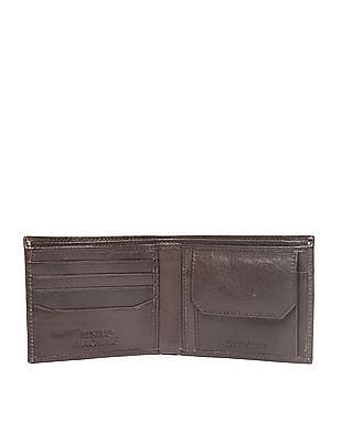 Flying Machine Red Indian Embossed Bi-Fold Wallet