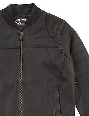 FM Boys Boys Panelled Zip Up Jacket