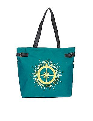 SUGR Printed Cotton Tote Bag