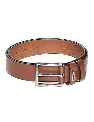 Izod Solid Leather Belt