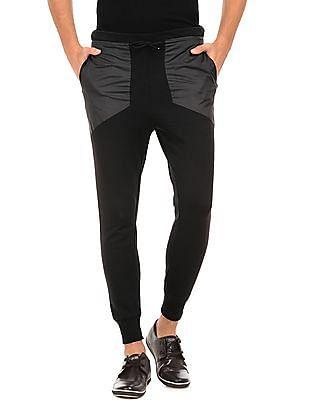 Arrow Newyork Solid Slim Fit Joggers