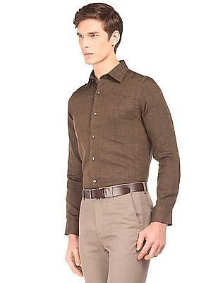 Arrow French Placket Linen Shirt