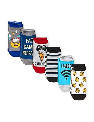 The Children's Place Girls Ankle Socks - Pack Of 6