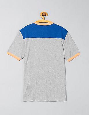 GAP Toddler Boy Grey Short Sleeve Football Tee