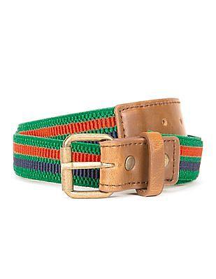 Cherokee Stretchable Striped Belt
