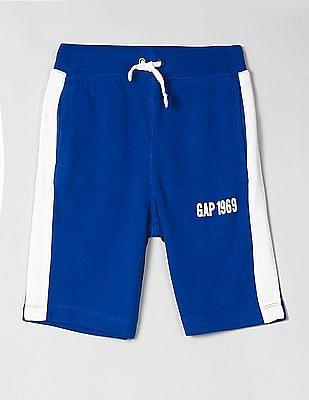GAP Boys Logo Pull-On Shorts