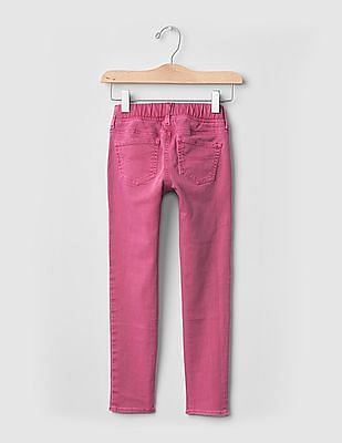 GAP Girls Pink 1969 Serious Stretch Pull-On Legging Jeans