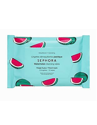 Sephora Collection Cleansing And Exfoliating Wipes - Watermelon