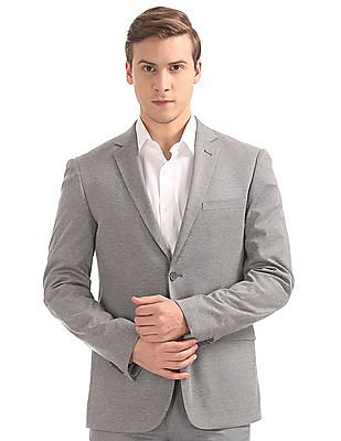 Arvind Slim Fit Single Breasted Blazer